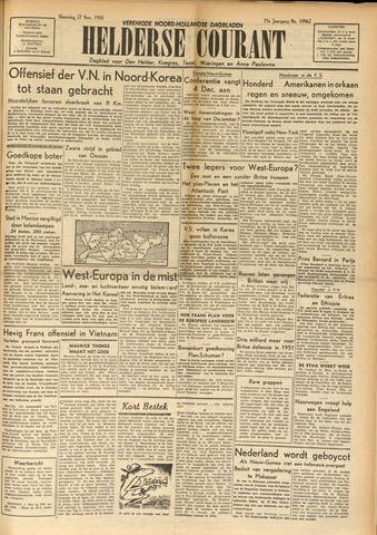 Heldersche Courant 1950-11-27
