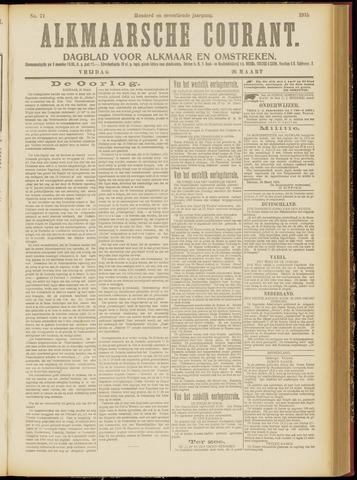 Alkmaarsche Courant 1915-03-26
