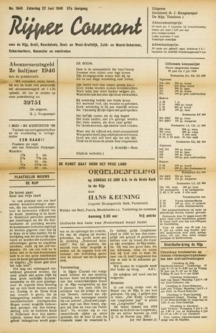 Rijper Courant 1946-06-22