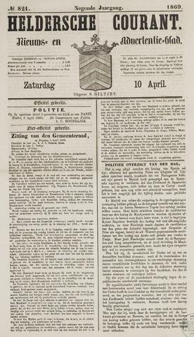 Heldersche Courant 1869-04-10
