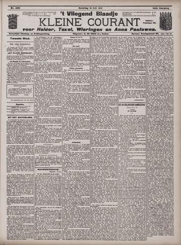 Vliegend blaadje : nieuws- en advertentiebode voor Den Helder 1913-07-19