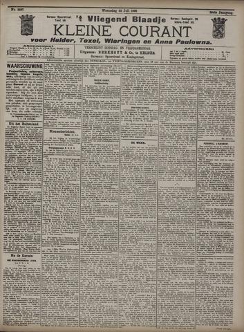 Vliegend blaadje : nieuws- en advertentiebode voor Den Helder 1908-07-22