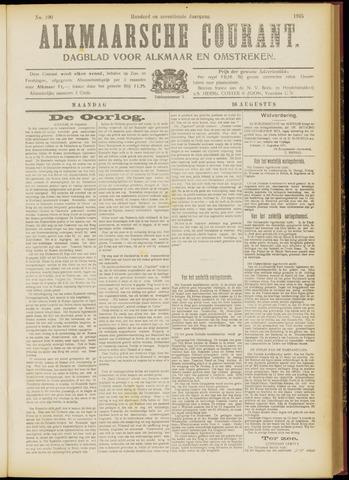 Alkmaarsche Courant 1915-08-16