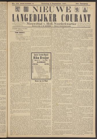 Nieuwe Langedijker Courant 1927-09-03