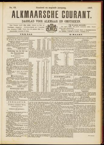 Alkmaarsche Courant 1907-03-15