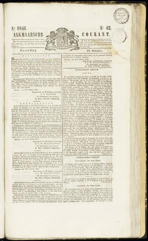 Alkmaarsche Courant 1841-10-18