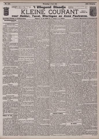 Vliegend blaadje : nieuws- en advertentiebode voor Den Helder 1912-06-05