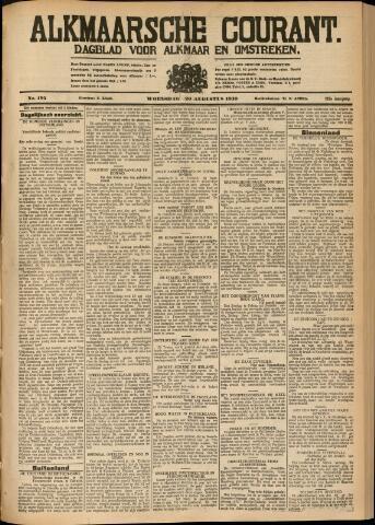 Alkmaarsche Courant 1930-08-20