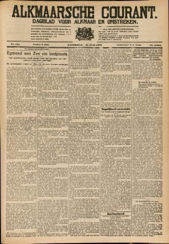Alkmaarsche Courant 1930-06-21