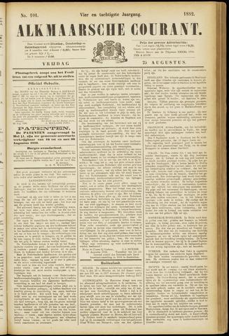 Alkmaarsche Courant 1882-08-25