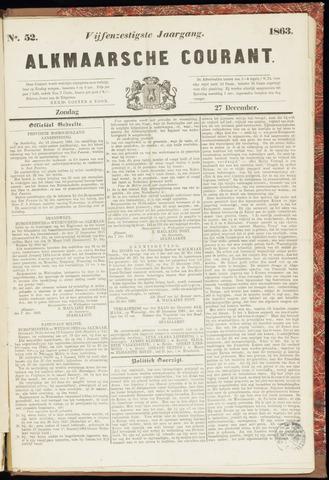 Alkmaarsche Courant 1863-12-27
