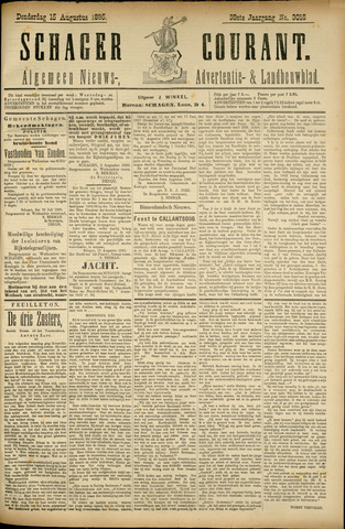 Schager Courant 1895-08-15