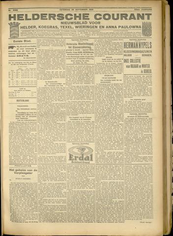 Heldersche Courant 1925-09-26