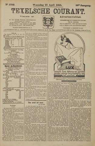 Texelsche Courant 1923-04-25