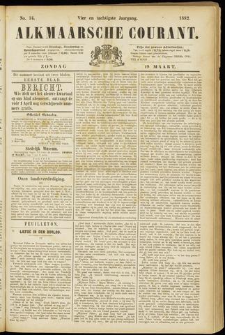 Alkmaarsche Courant 1882-03-19