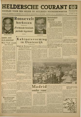 Heldersche Courant 1936-11-04