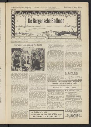 Bergensche bad-, duin- en boschbode 1950-08-05