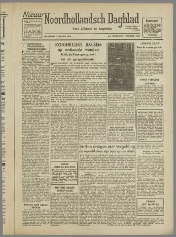 Nieuw Noordhollandsch Dagblad : voor Alkmaar en omgeving 1946-01-07