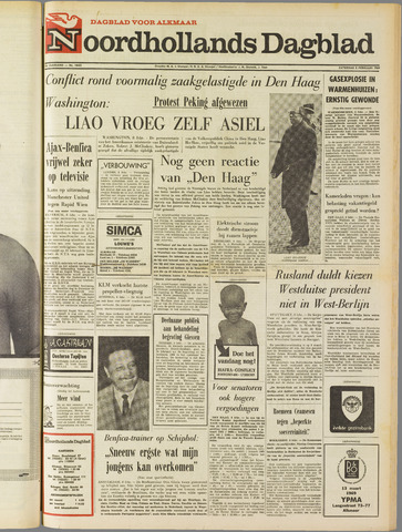Noordhollands Dagblad : dagblad voor Alkmaar en omgeving 1969-02-08
