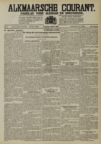 Alkmaarsche Courant 1937-03-02