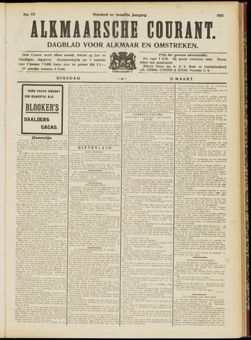 Alkmaarsche Courant 1910-03-15