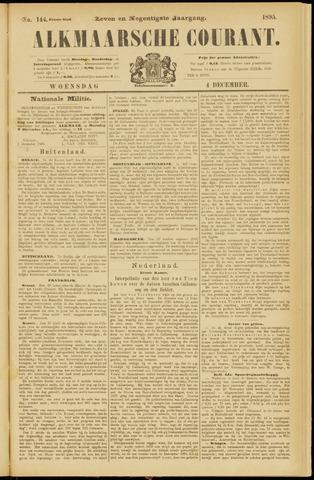 Alkmaarsche Courant 1895-12-04