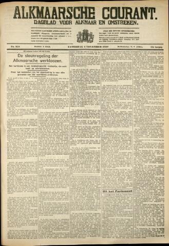 Alkmaarsche Courant 1930-11-01
