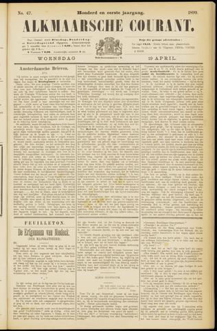 Alkmaarsche Courant 1899-04-19