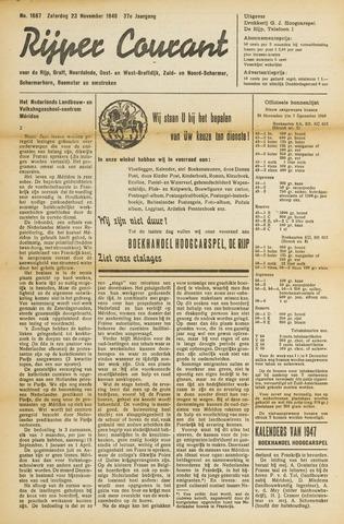 Rijper Courant 1946-11-23