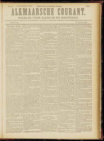 Alkmaarsche Courant 1919-01-17