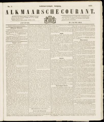 Alkmaarsche Courant 1876-01-30