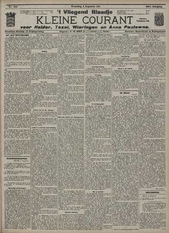 Vliegend blaadje : nieuws- en advertentiebode voor Den Helder 1910-08-03