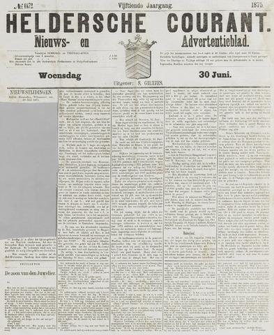 Heldersche Courant 1875-06-30