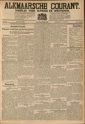 Alkmaarsche Courant 1934-05-15