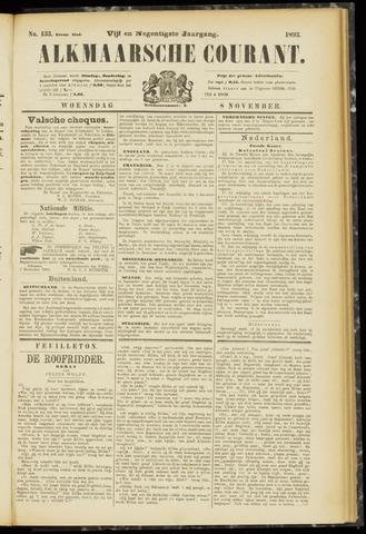 Alkmaarsche Courant 1893-11-08