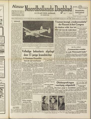 Nieuw Noordhollandsch Dagblad : voor Alkmaar en omgeving 1951-08-21