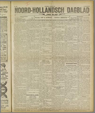 Ons Blad : katholiek nieuwsblad voor N-H 1921-03-07