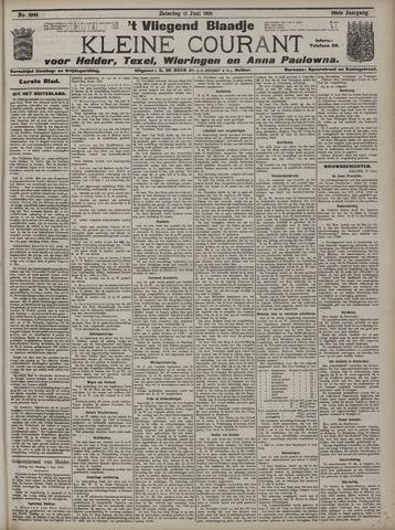 Vliegend blaadje : nieuws- en advertentiebode voor Den Helder 1910-06-11