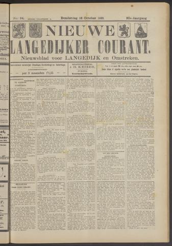Nieuwe Langedijker Courant 1921-10-13