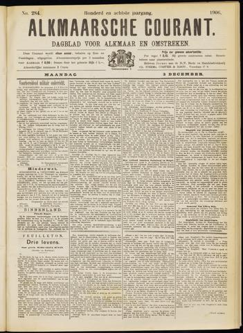 Alkmaarsche Courant 1906-12-03