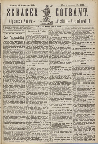 Schager Courant 1920-09-14