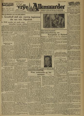 De Vrije Alkmaarder 1946-04-06