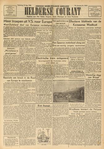 Heldersche Courant 1950-08-24
