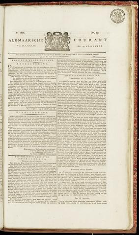 Alkmaarsche Courant 1826-09-25
