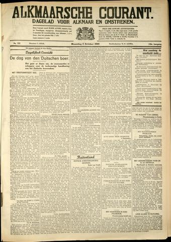 Alkmaarsche Courant 1933-10-02