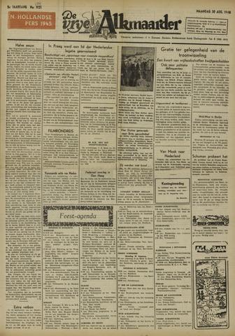 De Vrije Alkmaarder 1948-08-30