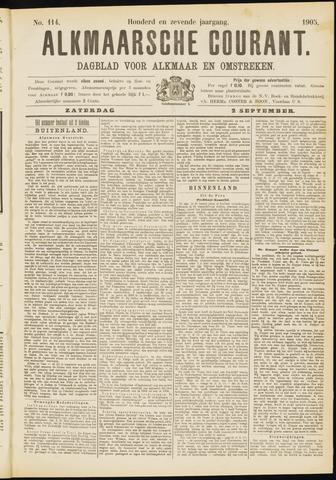 Alkmaarsche Courant 1905-09-02