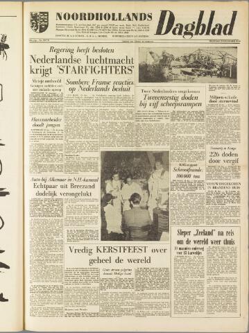Noordhollands Dagblad : dagblad voor Alkmaar en omgeving 1959-12-28