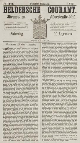 Heldersche Courant 1872-08-10