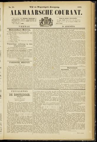 Alkmaarsche Courant 1893-08-18